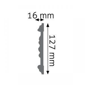LNZ02F Creativa Listwa ścienna LNZ02F