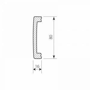 PW 5108-P Decor System Mech Listwa do wykończenia podlogi DSP09