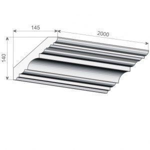 200 Decor System Listwa sufitowa FE7