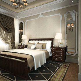 sztukateria styropianowa w sypialni